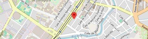 pepito ternera en el mapa