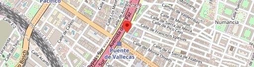 Chocolatería Pinilla en el mapa