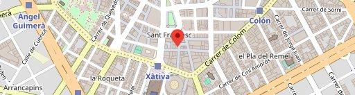 Pinsa Di Roma en el mapa