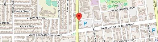 Pizza Hut on map