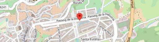 Pizzeria NYAM en el mapa