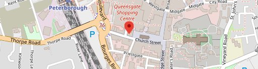 The Pizza Parlour & Music Cafe on map