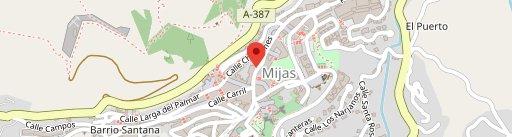Pizza Uno en el mapa