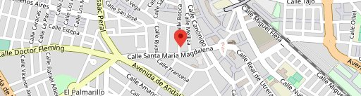 Pizzeria Ciao en el mapa