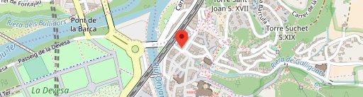 Pizzeria Del Barri Vell en el mapa