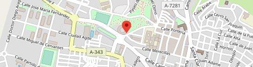 Restaurante Plaza de Toros en el mapa