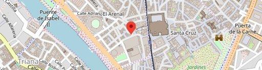Postiguillo en el mapa