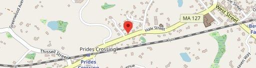 Prides Deli on map