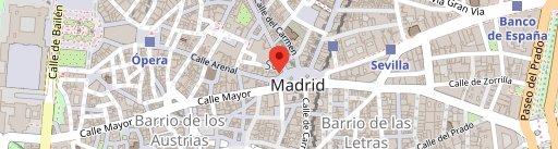 Chicote El Corte Inglés en el mapa