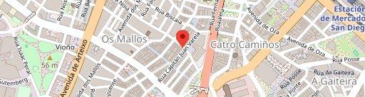 Pulpeira A Nova Lanchiña - Eusebio da Guarda en el mapa