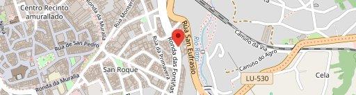 Pulpería Maciñeiras on map