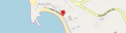 Restaurante Puntoecoma en el mapa