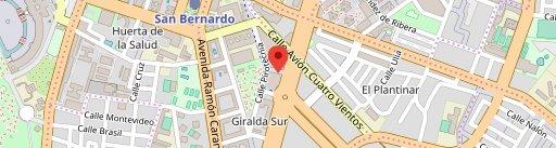 Pura Gula Sevilla en el mapa
