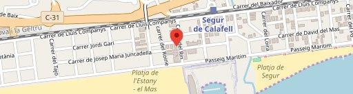 Restaurant RHIN en el mapa