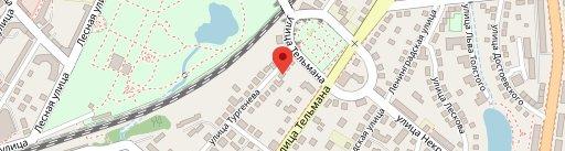"""Guest house """"Paraiso"""" en el mapa"""