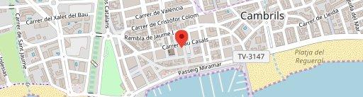 Restaurante Tiki Taka en el mapa
