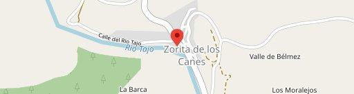 Restaurante Abuela Maravillas en el mapa
