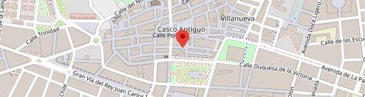 Restaurante Ajonegro en el mapa