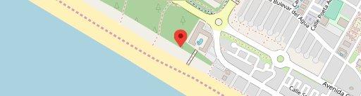 Restaurante Arrozante en el mapa