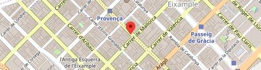 Balmes 103 - Hotel Barcelona Center en el mapa
