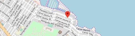 Restaurante Crismar en el mapa
