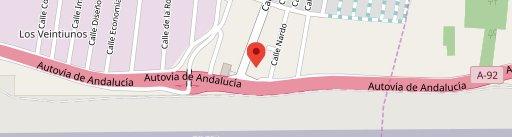 Hotel Restaurante El Cruce en el mapa