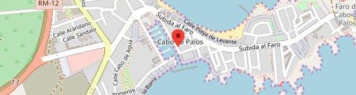 Restaurante El Faro en el mapa