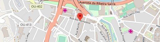 Pizzería El Molino Café Bar en el mapa