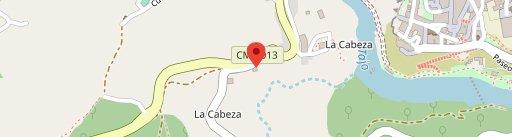 Restaurante Hierbabuena en el mapa