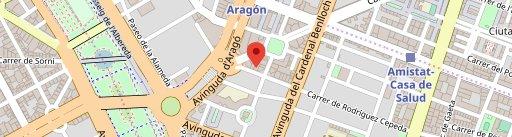 Jacaré Bar & Restaurante en el mapa