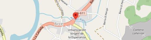 Restaurante la Calzada en el mapa