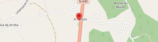 Restaurante la Palloza en el mapa