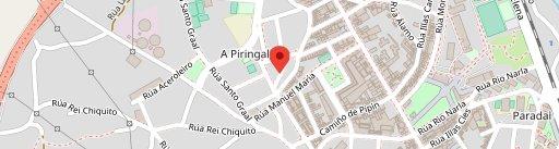 Restaurante Larapote en el mapa