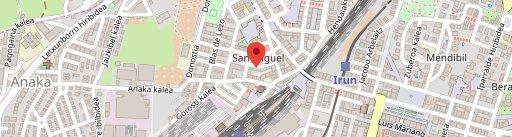 Restaurante Larun en el mapa