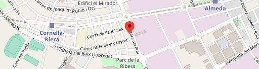 Restaurante Lys en el mapa