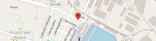 Restaurante Mediterráneo на карте