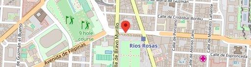 Ríos Rosas en el mapa