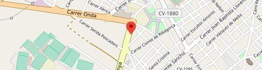 Pavarotti en el mapa