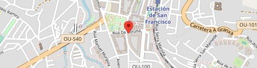 Rocko Pizza en el mapa