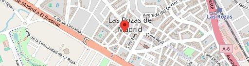 Pizzería-Trattoria Romolo en el mapa