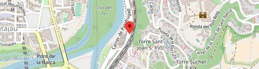 Rústik restaurant en el mapa