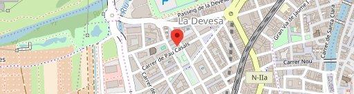 Bar Restaurant Sa Cabaneta en el mapa
