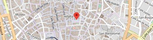 Sal Gorda en el mapa