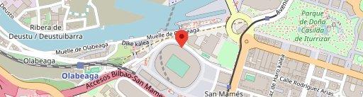 San Mames Jatetxea en el mapa