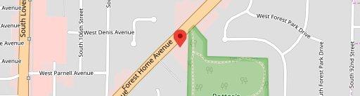 Sandras On the Park on map