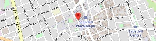 Santamasa Sabadell en el mapa