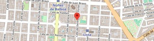 Sargo Madrid en el mapa