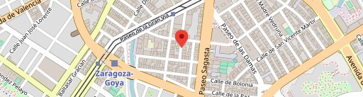 Saucco restaurante en el mapa