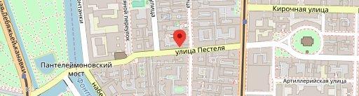 Serbish на карте