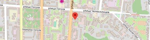 Серебряная Fabrika на карте